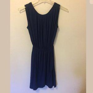 Rachel Pally navy blue dress size M elastic waist